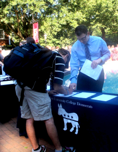 College Democrats at Elon University